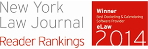 NY Law Journal Readers Ranking Award 2013